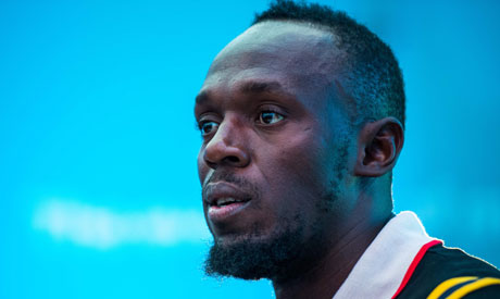 Retired Jamaican sprinter Usain Bolt from Jamaica (Reuters)