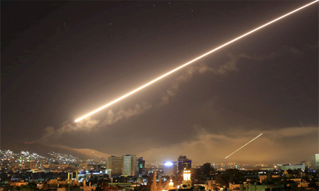 US attack on Damascus