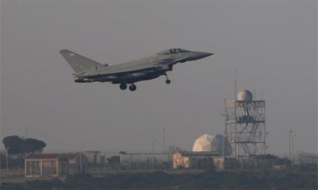 UK  fighter Cyprus
