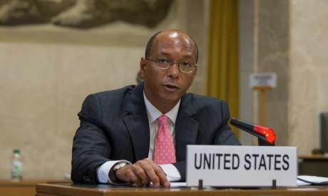 US Disarmament Ambassador Robert Wood