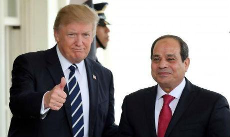 Trump, El-Sisi