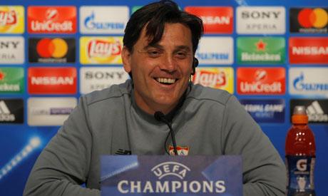 Sevilla coach Vincenzo Montella (Reuters)