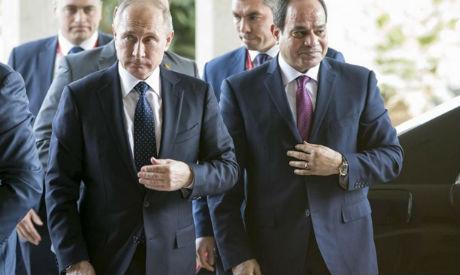 Putin, El-Sisi