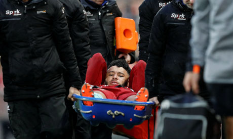 Alex Oxlade-Chamberlain ruled out of World Cup