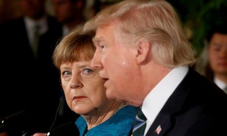 Merkel, Trump