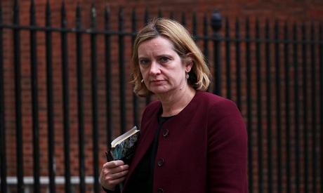 British interior minister Amber Rudd
