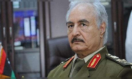General Khalifa Haftar, head of the Libyan National Army (LNA)