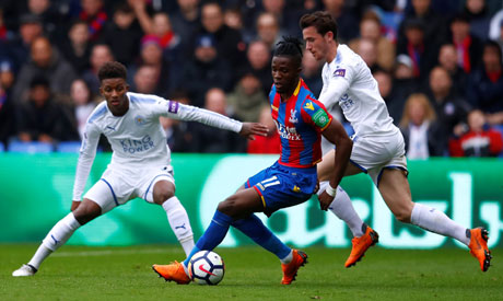 Palace ease relegation fears with 5-0 rout of Leicester