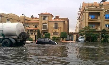 New Cairo Rain