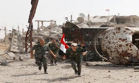 Regime Soldiers Yarmouk