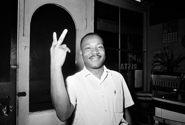 PHOTO GALLERY:  The struggles of Martin Luther King Jr remembered