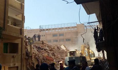 Alexandria building collapse