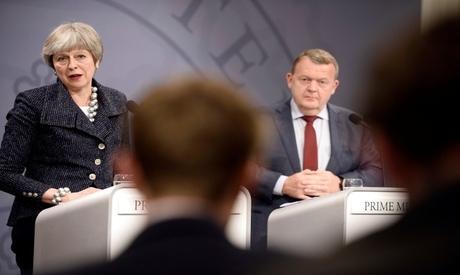 Theresa May Copenhagen