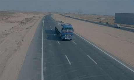 Upper Egypt highway