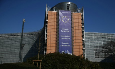 The European Commission headquarters is seen in Brussels, Belgium March 17, 2016