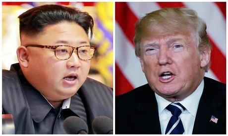 Kim, Trump