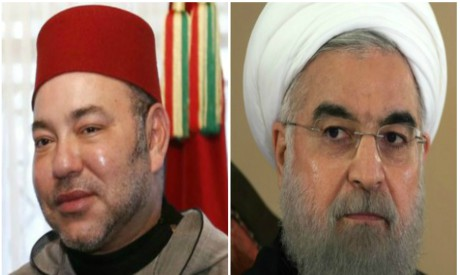 Mohammed VI, Hassan Rouhani