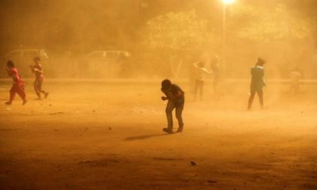 India dust storm