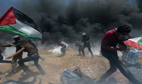 Gaza border clashes