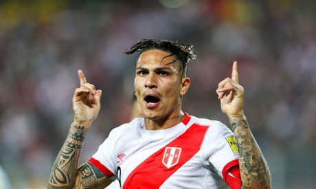 Peru's Paolo Guerrero confirmed in FIFA World Cup 2018