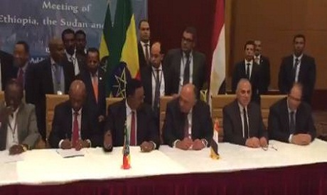 Ethiopian PM meets Egypt's FM and intelligence chief for GERD talks