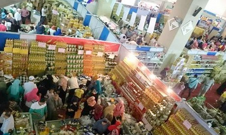 Shopping market for Ramadan