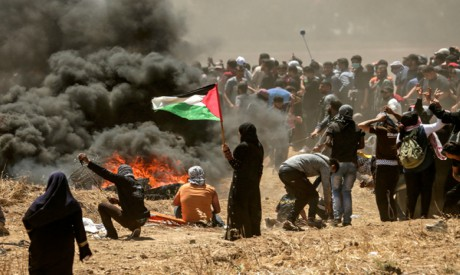 Palestinian clashes with Israeli forces