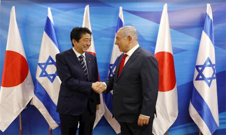 Abe and Netanyahu