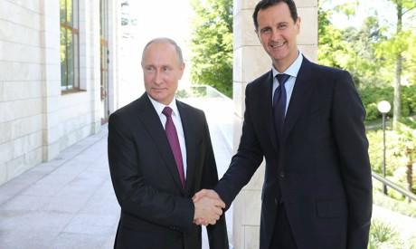 Putin, Bashar