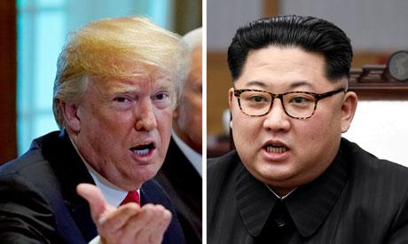 U.S. President Donald Trump and North Korean leader Kim Jong Un