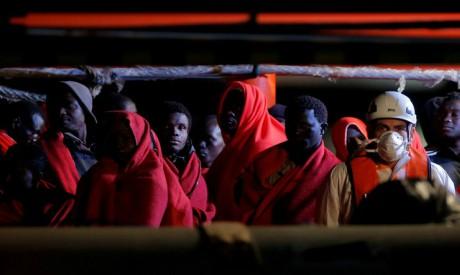 Migrants, Spain