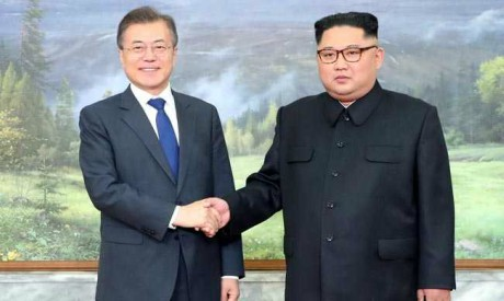 Moon Jae-In, Kim Jung-On