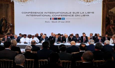 Conference on Libya at the Elysee Palace