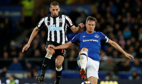Islam Slimani banned for Newcastle's last three games after accepting charge