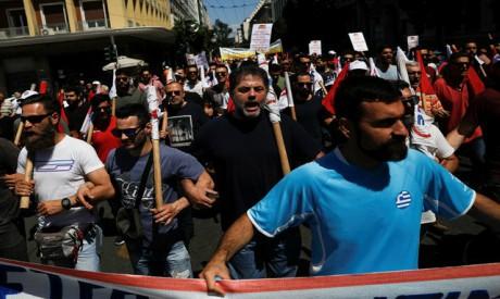 General strike, Athens