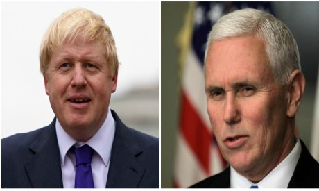 Johnson and Pence