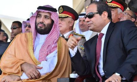 El-Sisi, Crown Prince Mohamed bin Salman