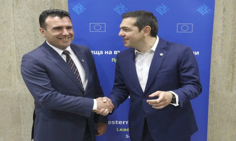 Zoran Zaev, Alexis Tsipras