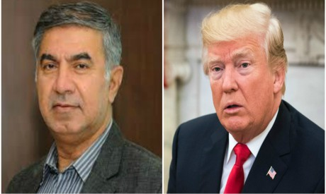Kazempour Ardebili, Donald Trump