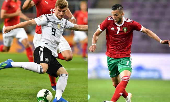 Timo Werner and Hakim Ziyech