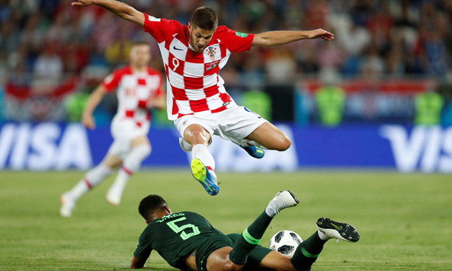 Nigeria and Croatia