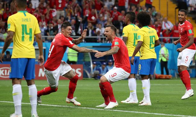 Brazil and Swiss
