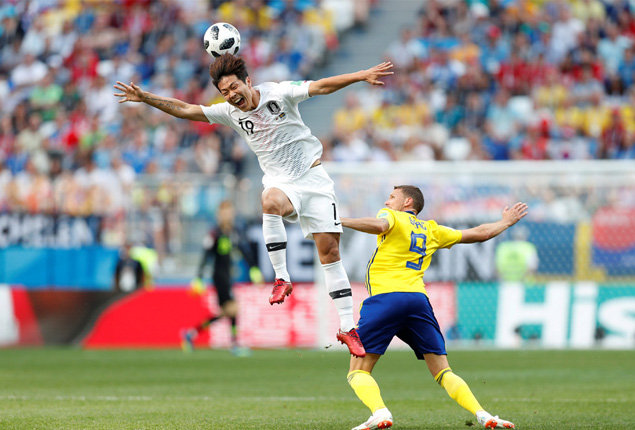 PHOTO GALLERY: Sweden beat South Korea 1-0