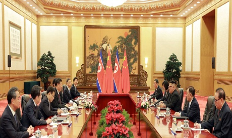 China-North Korea Meeting
