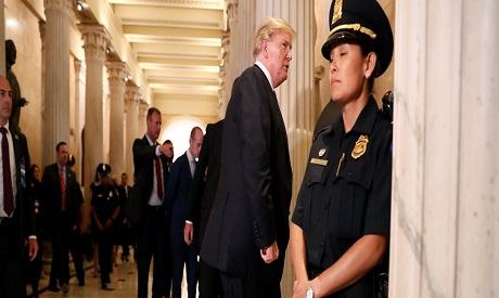 Trump in U.S. Capitol