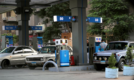 A petrol station in Cairo