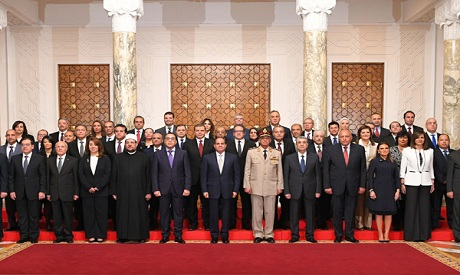 New Egyptian Cabinet