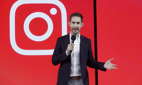 Kevin Systrom, CEO and co-founder of Instagram (AP)