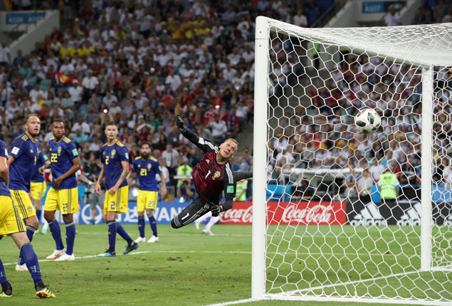 PHOTO GALLERY: Germany secure dramatic 2-1 win over Sweden