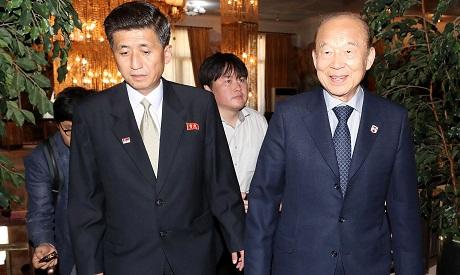 South Korea and North Korea Talks